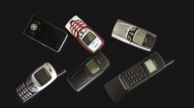 eski cep telefonları